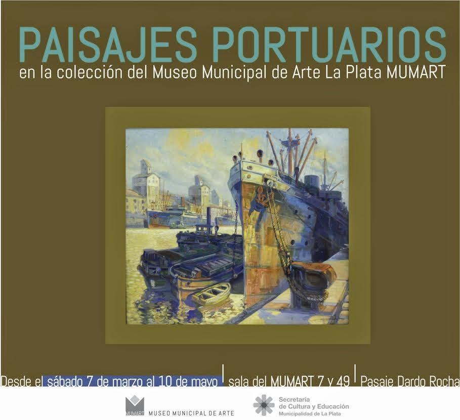 Paisajes portuarios de la colección del MUMART