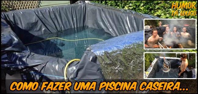Saiba como fazer uma piscina caseira...