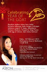 Celebrating Year Of The Goat di Grand Aston City Hall Medan!