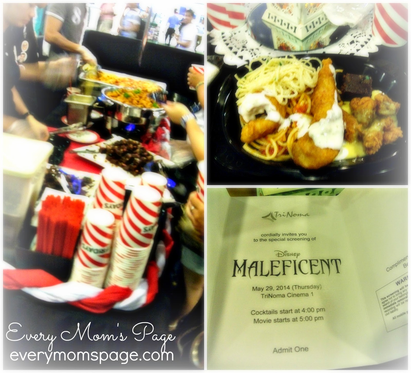 Everymomspage my movie experience maleficent trinoma cinema1 the event started with delightful foods served by fishco and tgifridays there were so many bloggers in the event and it was too crowded that is why i was stopboris Gallery