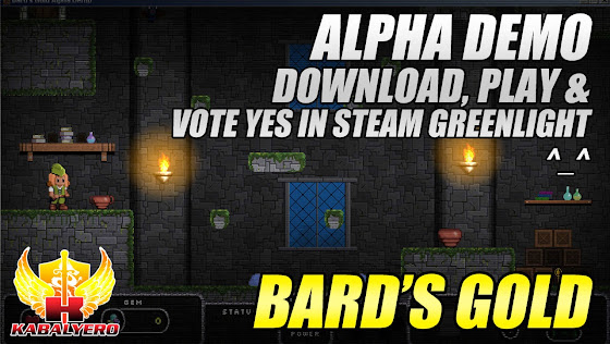 Bard's Gold, Download The Alpha Demo & Play, Vote Yes In STEAM Greenlight