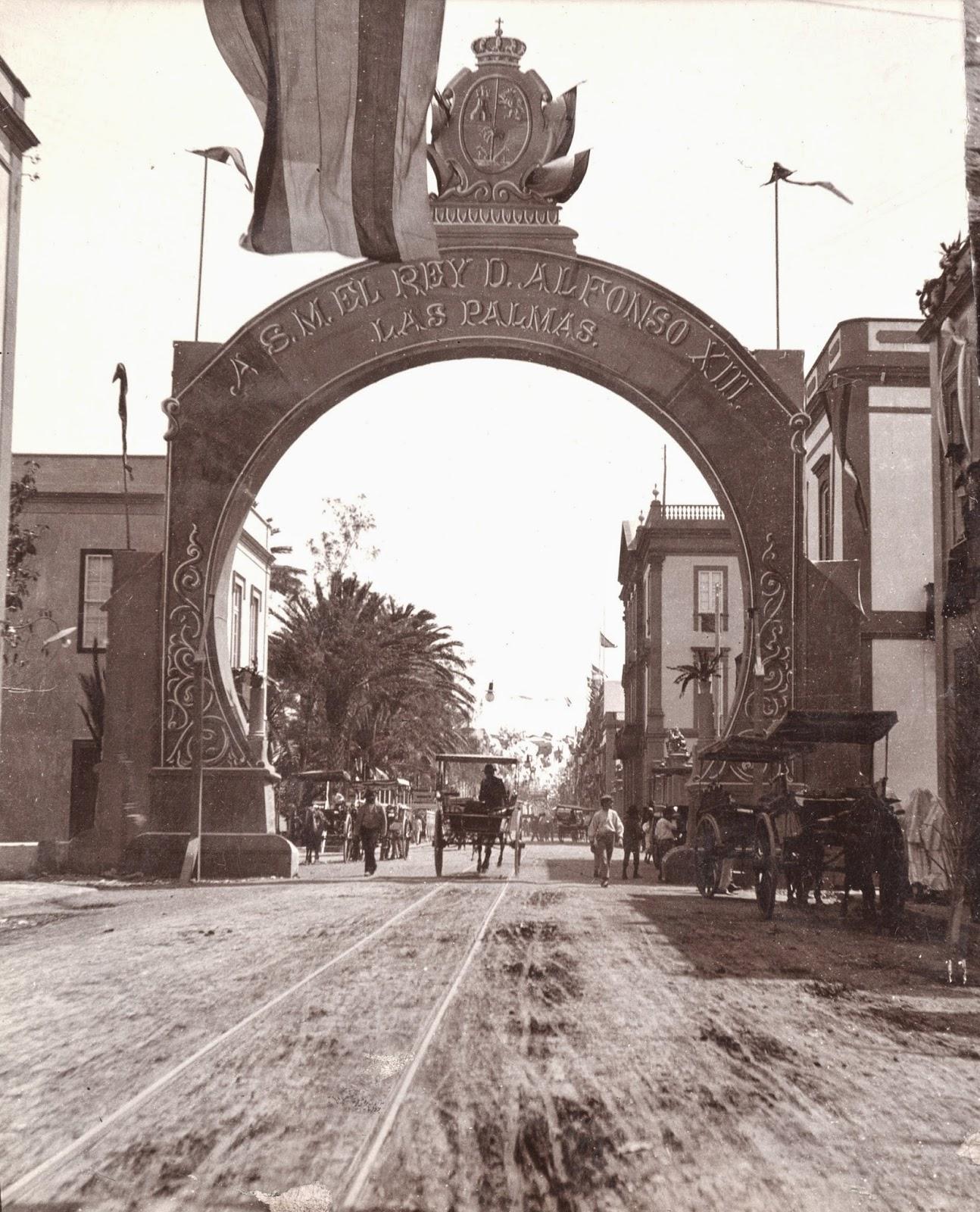 Imagen nº 06793 propiedad de LA FEDAC/ Cabildo de Gran Canaria. Realizada en el año 1906. Fotógrafo sin identificar.