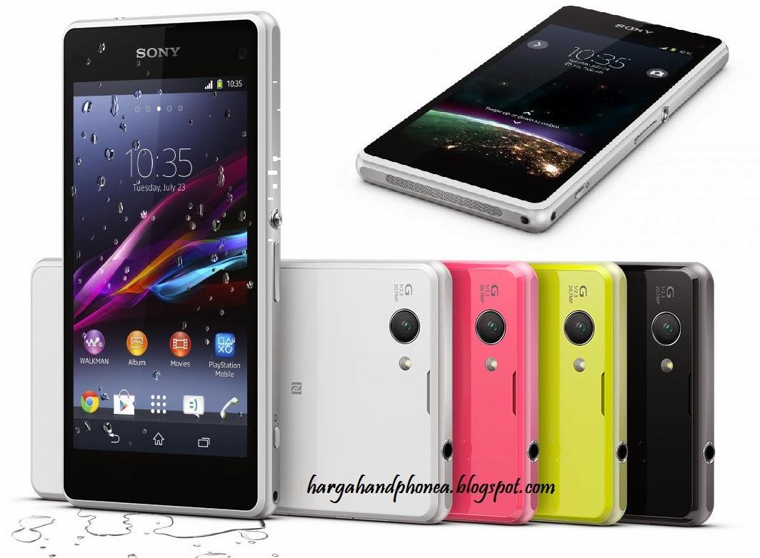 Review Harga Sony Xperia Z1 Compact dan Spesifikasi