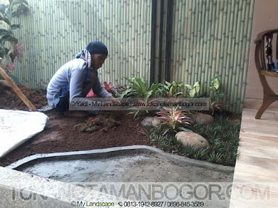 Tukang Taman Depok Murah & Profesional - Pembuatan Taman Minimalis Harga Murah