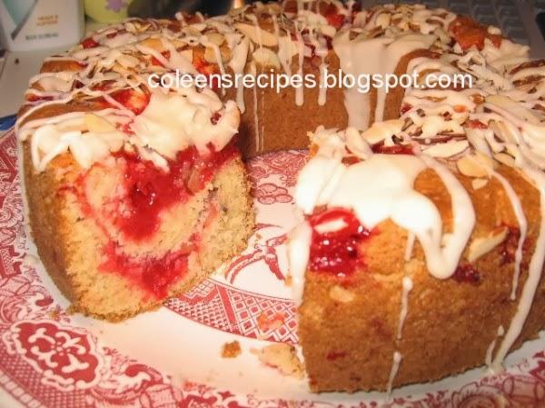Cherry Almond Tea Cake Recipe