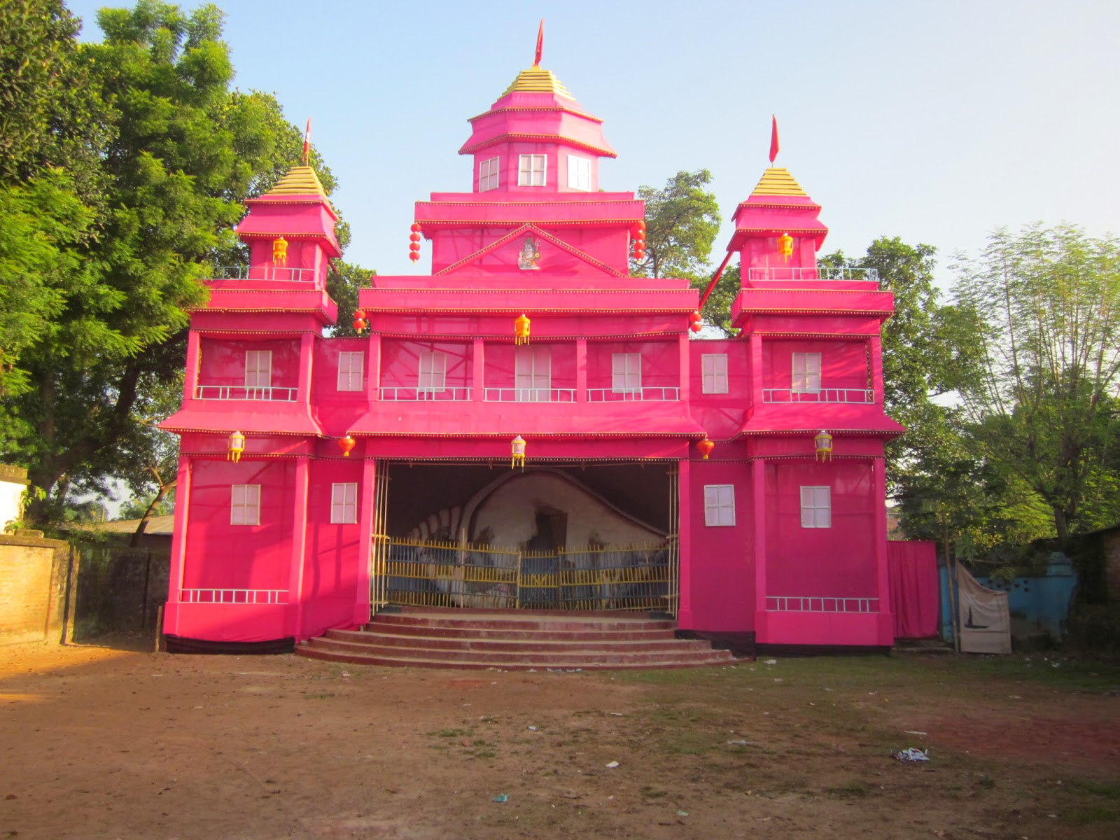 Village flute where people are still people dinajpur district hosts many elaborate durga puja pandals every year altavistaventures Choice Image
