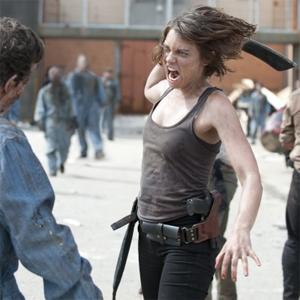Lauren Cohan en el salvaje tráiler de The Walking Dead Season 3