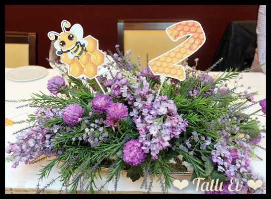 arı temalı doğumgünü partisi