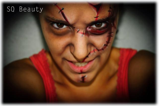Maquillaje Halloween Chucky Silvia Quiros makeup