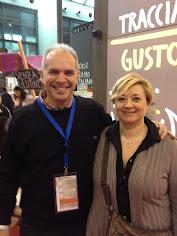 con la mia amica Cristina Lunardini