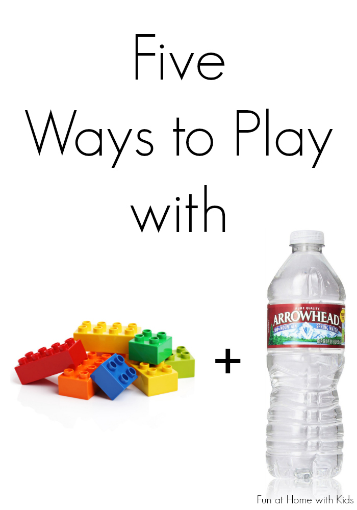 Five ways to play with your LEGO bricks AND keep cool this summer!  From Fun at Home with Kids