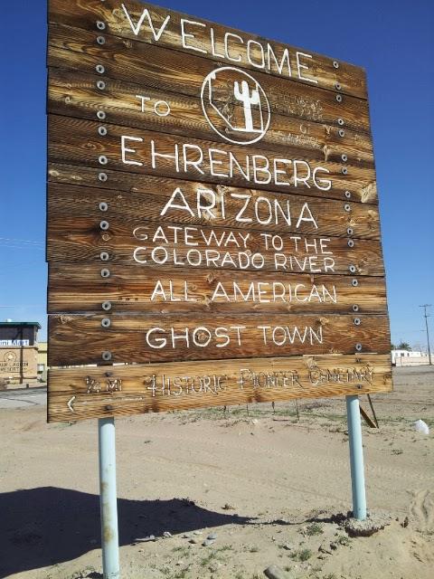 Ehrenberg (AZ) United States  city photos gallery : Ghost Town Ehrenberg Arizona Romantic History of Old Ehrenberg