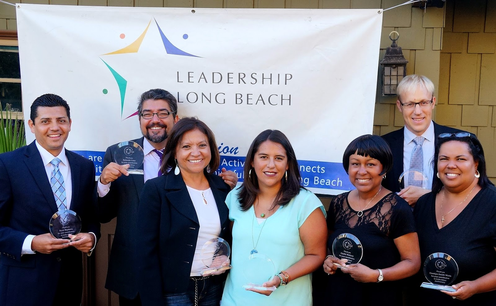 Leadership Long Beach Most Impactful Award Carolyn Smith Watts