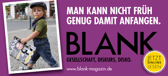 Das Blank Magazin