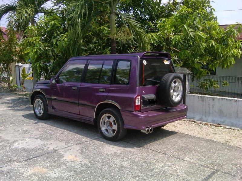 modifikasi mobil suzuki escudo