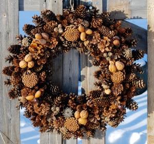 Coronas de Navidad, Frutos Secos