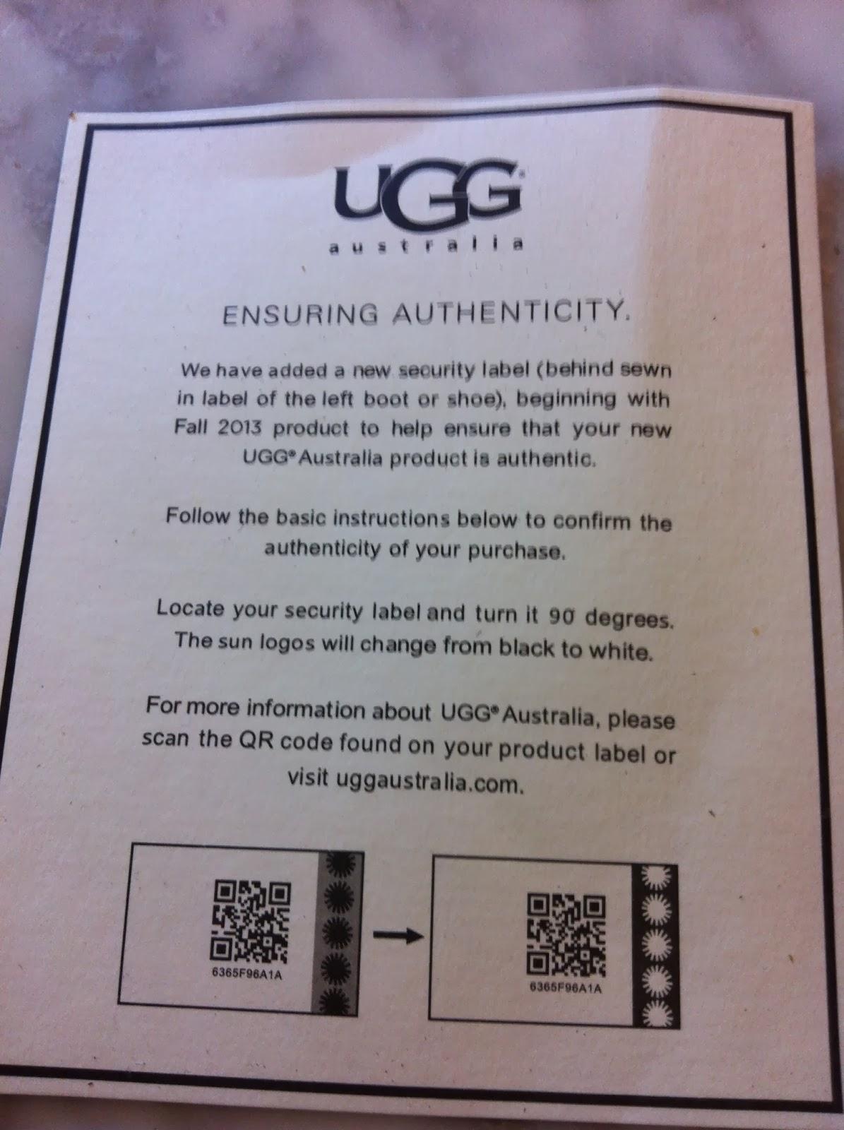 qr code fake uggs