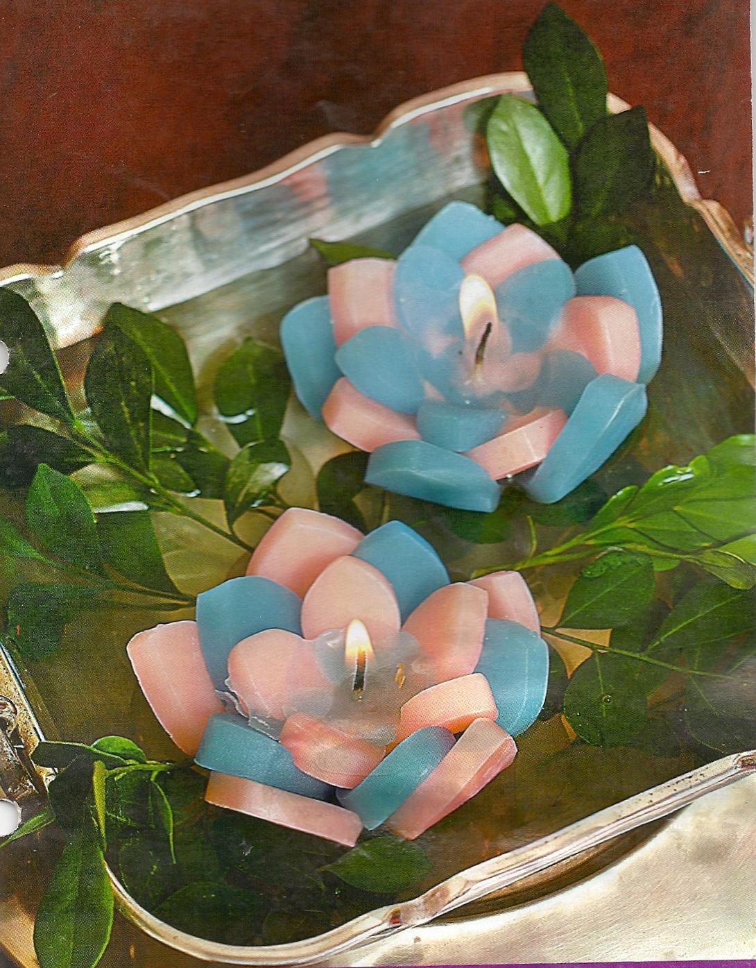 Como hacer velas decorativas lodijoella - Como hacer velas flotantes ...