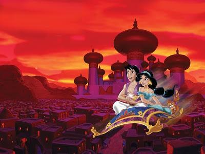 Aladdín, 1992, película de animación de Disney. HITOS DEL CINE. Making Of