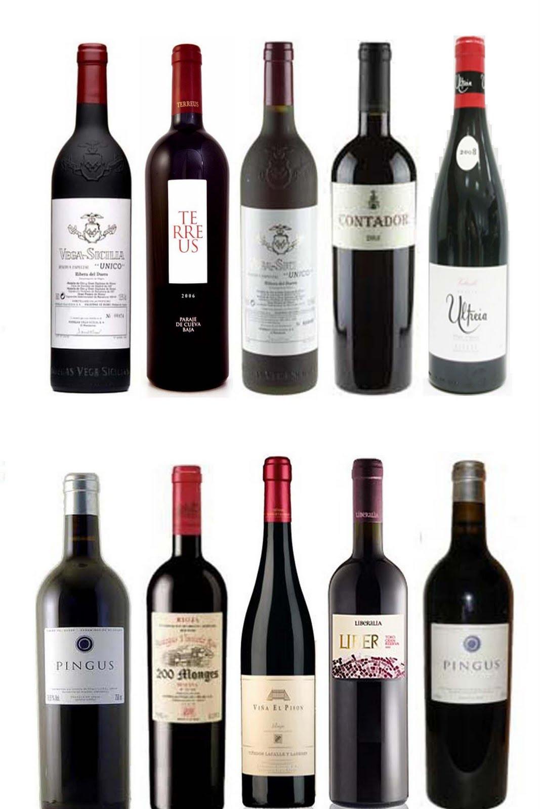 100 mejores vinos de espana: