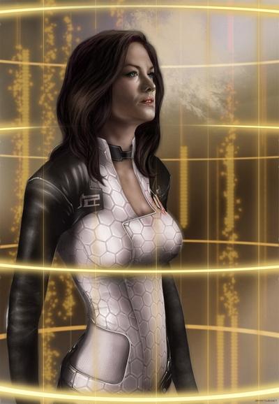 Miranda Fanart Mass Effect