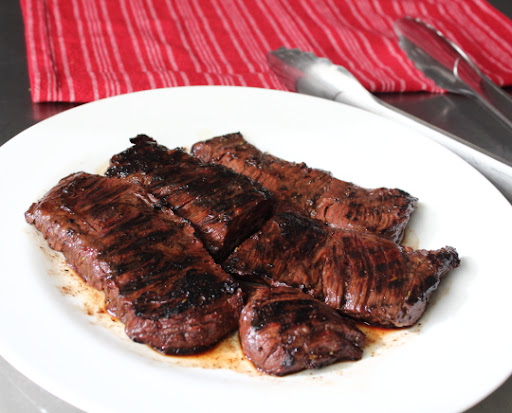 Grilled Coffee & Cola Skirt Steak – Two Great Drinks = One Fantastic Marinade