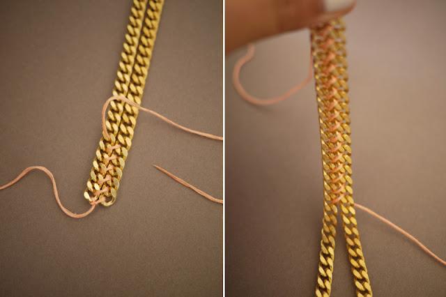 Цепь плетение своими руками 21