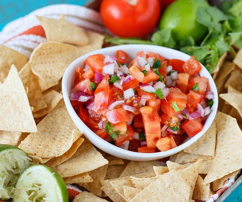 fresh pico de gallo from Shared Appetite