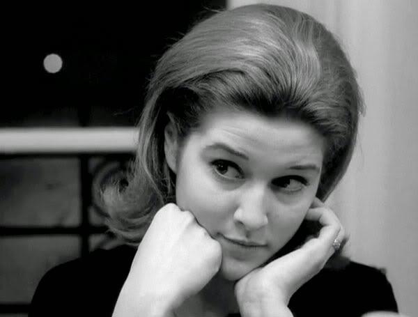 Catherine-Isabell Duport in Jean-Luc Godard's Masculin Feminin