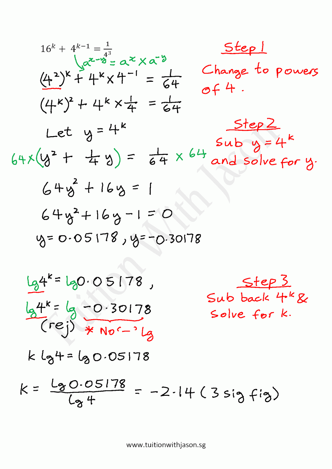how to solve x in maths