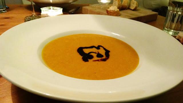 Rezept für Kürbissuppe