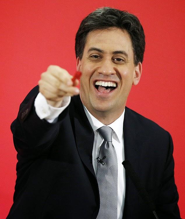 O judeu Ed Miliband pode se tornar 1º ministro do Reino Unido