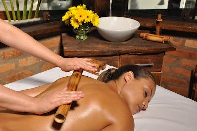 Bambuterapia, uma massagem completa
