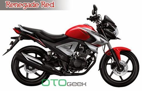 Honda New MegaPro Fi Renegade Red