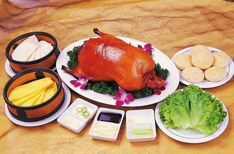 Hidangan bebek peking Pics: http://www.qdquanjude.com