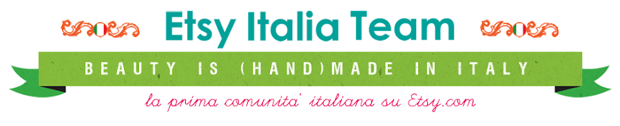 Etsy Italia Team - beauty is (hand)made in Italy