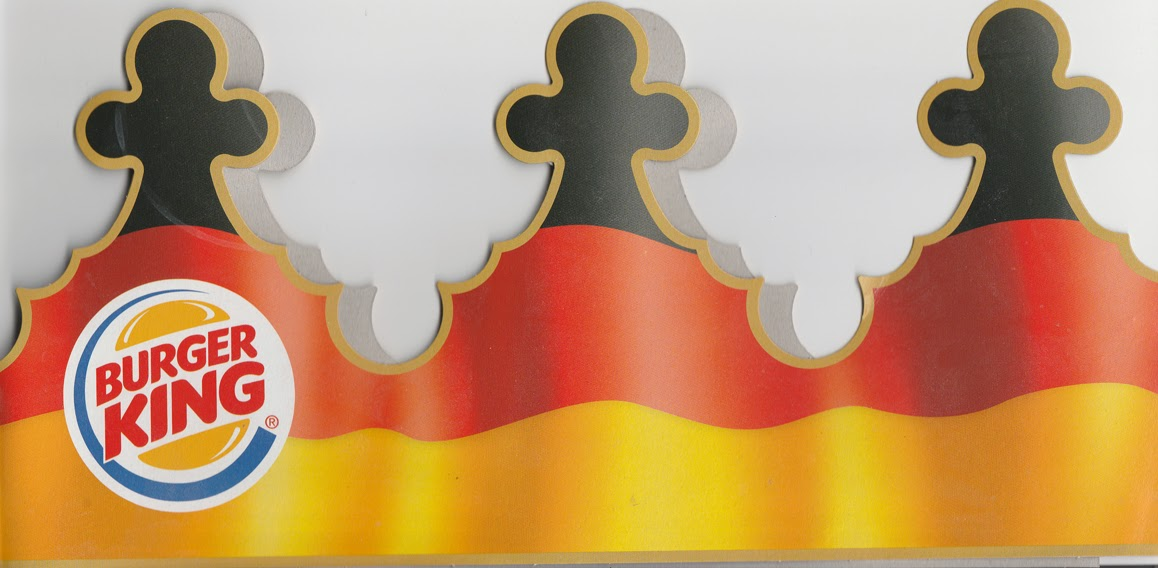 German Burger King Crown