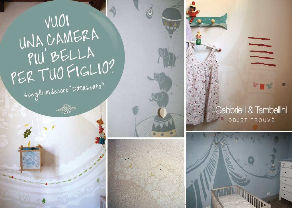 Gabbrielli tambellini objet trouve 39 decorazioni per for Decorazioni per camerette
