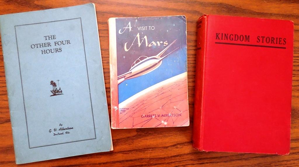 The Three Original Major Publications by Garrett V. Albertson