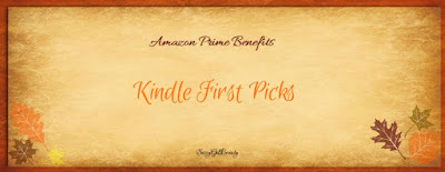 Kindle First- September Picks