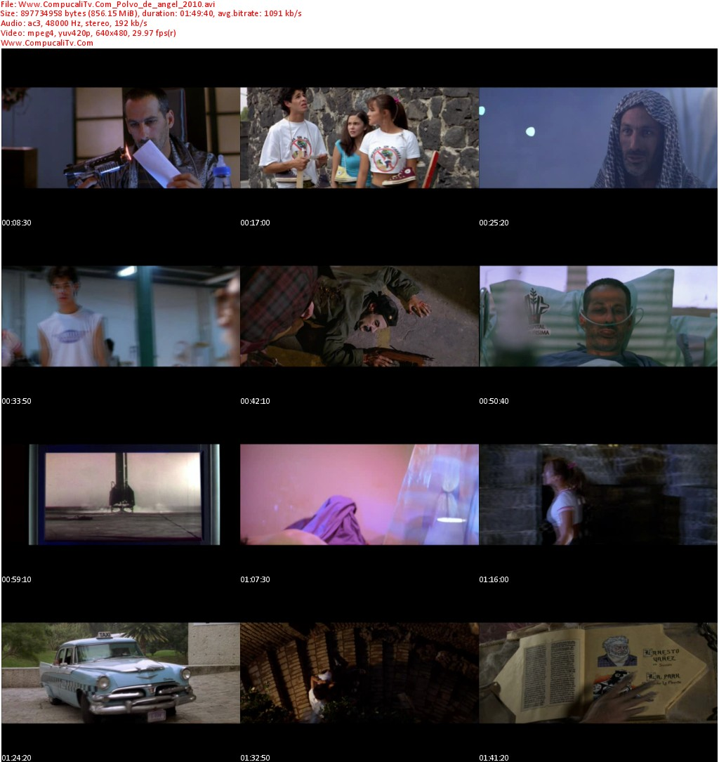 Polvo de Ángel [DVDRip] Español Latino 1 Link [Mexicana]