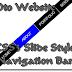 CSS3 Slide Style Navigation Bar