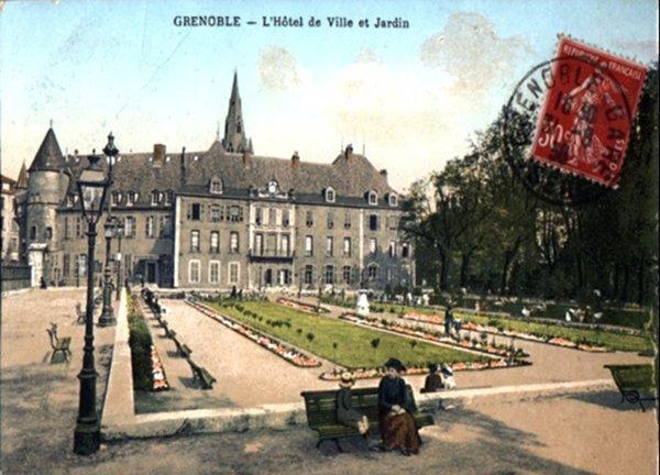 Grenoble ancien grenoblophiles - Creche jardin de ville grenoble ...