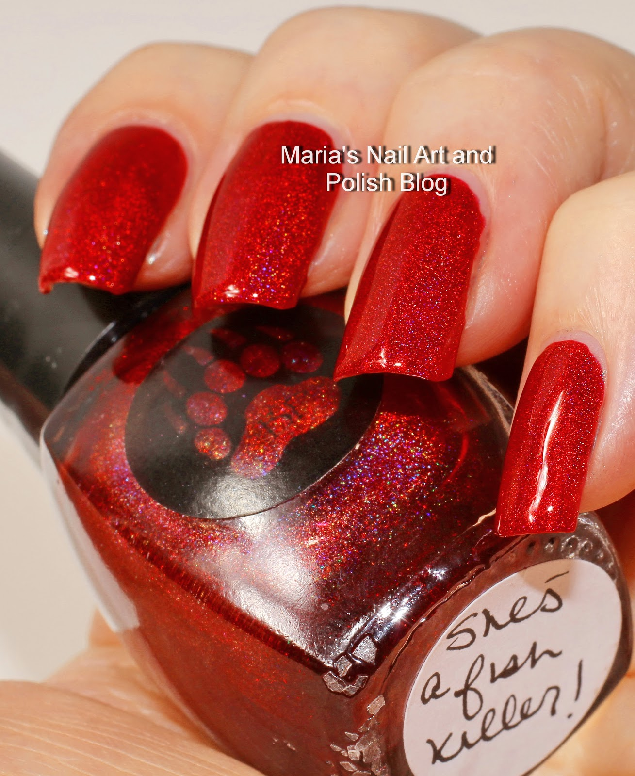 Marias Nail Art and Polish Blog: Bear Pawlish She\'s a Fish Killer ...