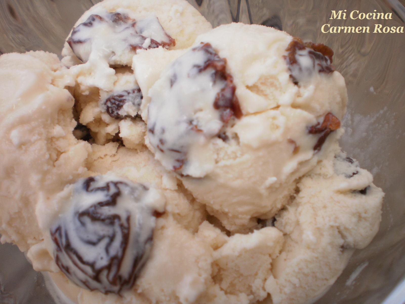Mi cocina helado malaga helado de vino moscatel y uvas for Mi cocina malaga