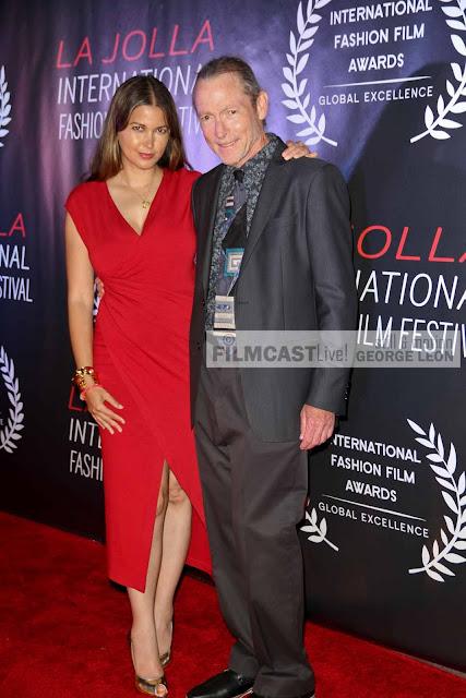 Indrani Pal-Chaudhuri,  Fred Sweet, La Jolla Int.Fashion Film Festival FILMCASTLive!