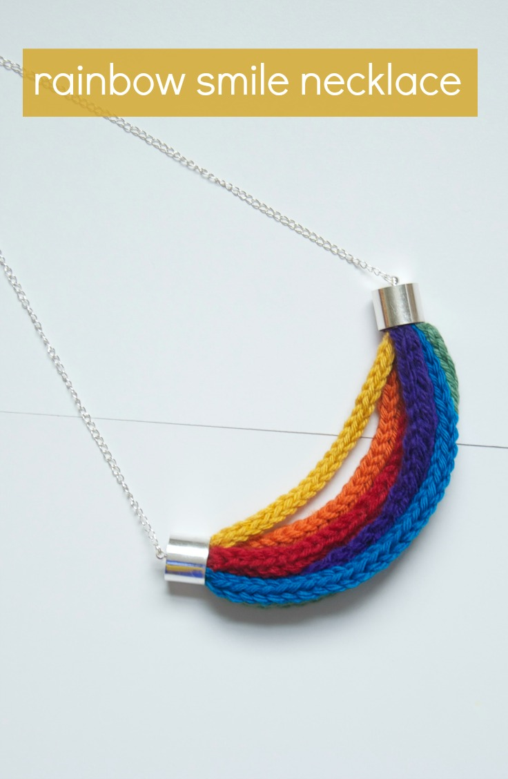 How to :: Rainbow Smile Necklace :: – Vicki Brown Designs