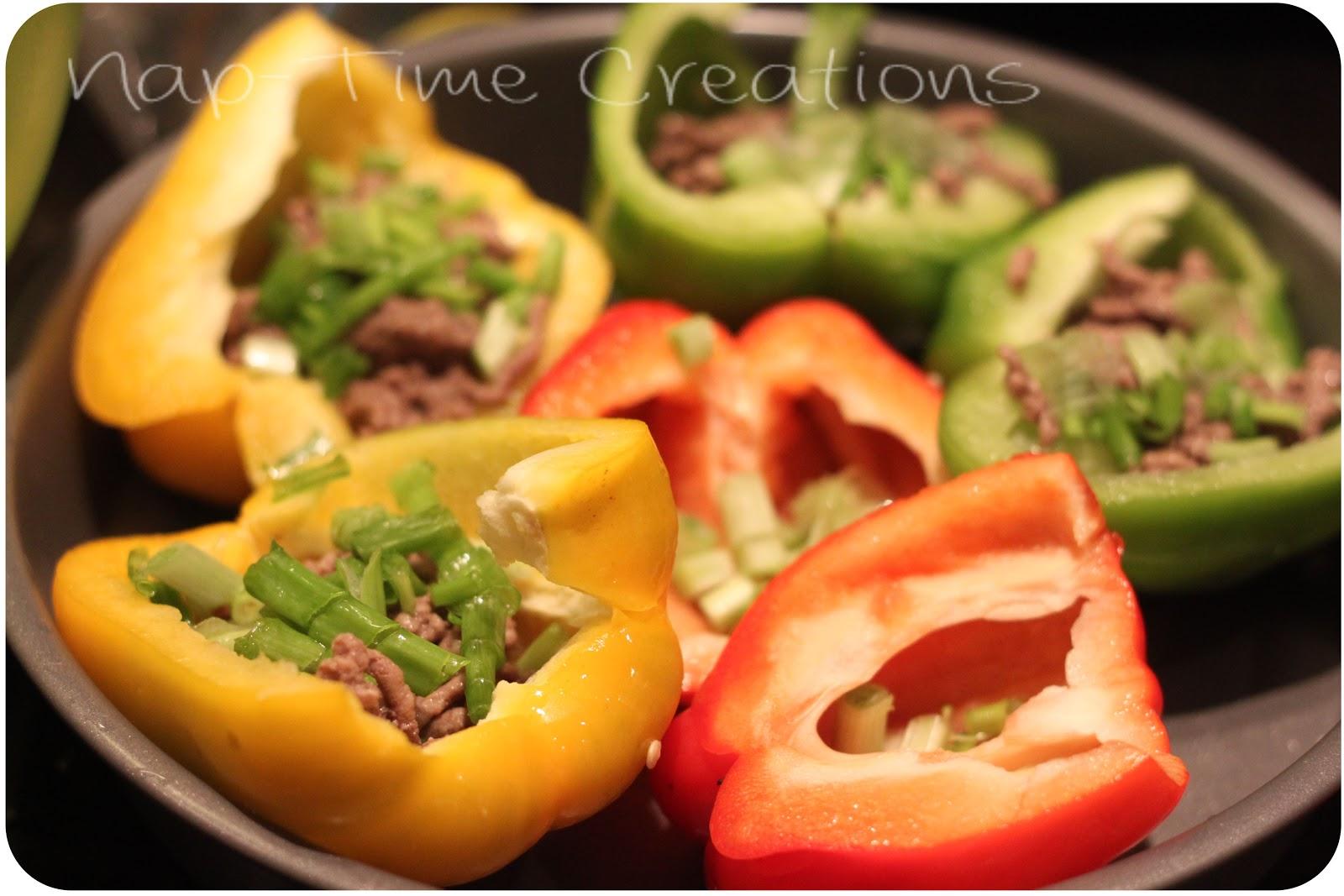 Feta Stuffed Peppers - Life Sew Savory