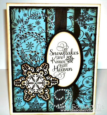 Stamps - Our Daily Bread Designs Snowflake Sentiments/Snowflake Background/Sparkling Snowflakes/Snowflake Die