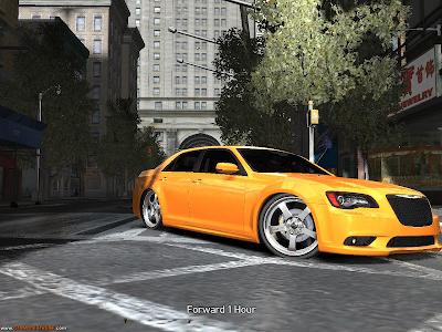 Chrysler 300C SRT8 2012 DUB Para GTA IV